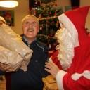 Le père Noël au FOYER Maison Emilie