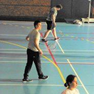 Championnat départemental de badminton adapté à Altkirch.