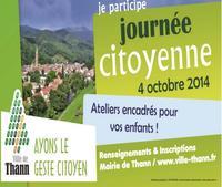 La journée citoyenne organisée par la ville de Thann.
