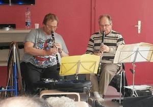 Après-midi musicale avec M. Patrick A (résidant Accueil Temporaire)