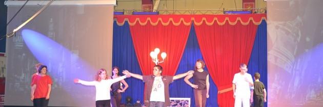 Représentation de l'école du cirque